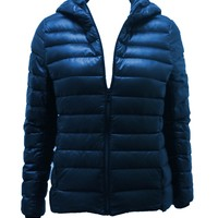 Voxn Puff Jacket Electric Blue