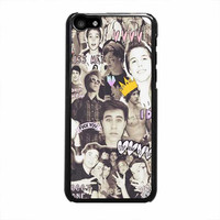 magcon boys collage black and white theme iphone 5c 5 5s 4 4s 6 6s plus cases