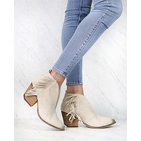 COCONUTS By Matisse - Women's Miranda Ankle Bootie in Ivory