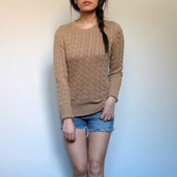 Gap Super Soft Cable Knit Sweater S NWT