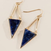 Mischa Triangle Drop Earring