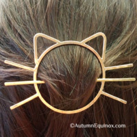 Cat Hair Clip Kitty Cat Hair Pin