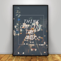 Quote Prints, Quote Poster, Quote Art, Typographic print, prints and posters, printable quote, Inspirational Art, motivational, modern decor