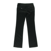 Freestyle Revolution Womens Juniors Bootcut Flat Front Casual Pants