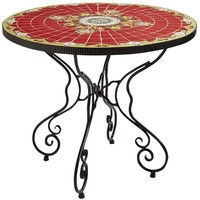Rania Table - Red