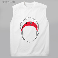 5sos Ashton Outline Muscle Tee |5 Seconds Of Summer