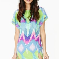 Nasty Gal Collection Chaos Theory Dress