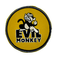 Evil Monkey Patch Iron On Applique Alternative Clothing Family Guy