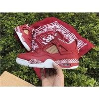 Air Jordan 4 Retro CNY Red Sneaker