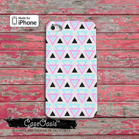 Triangle Pattern Southwest Colors Tribal Pattern Geo iPhone 4 Case and iPhone 5/5s/5c Case and iPhone 6, 6 Plus, 6s, 6s Plus + Wallet Case