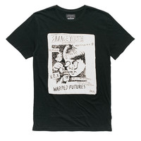 Afends Savage Youth - Slim Fit Tee - Black