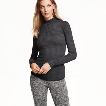 H&M Rib-knit Turtleneck Sweater $24.99