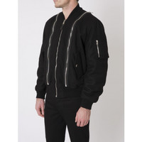 Givenchy zipped bomber jacket   The Webster