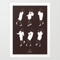 Seinfeld Art Print by Niege Borges