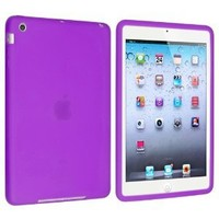 eForCity Silicone Case for Apple iPad mini, Purple (PAPPIPDMSC16)
