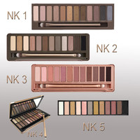 Makeup Eyeshadow Palette 12 Colors With Brush