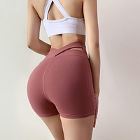 Women's High Waisted Spandex Shorts   Activewear