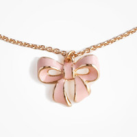 Bow Charm Necklace | FOREVER 21 - 1011386171