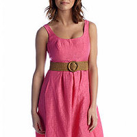 Nine West Dress Sleeveless Fit and Flare Dress