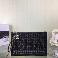 New Designer CHANE SIZE  25*15*3 CM Double C Women Leather silver and gold on Chain cross body bag Chane vintage Chanl jumbo Handbag tote shoulder bags