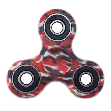 Red White Blue Camo Colorful Fidget Spinner