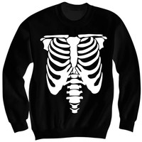 HALLOWEEN SKELETON COSTUME SWEATSHIRT