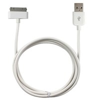 Generic Extra Long 6 Foot (6ft) iPhone / iPod USB Charge and Sync Cable, Double the Length of the Standard Cord (White color)