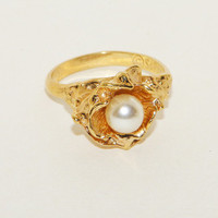 Vintage Sarah Coventry Ring Adjustable size 7