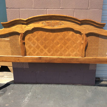 Vintage French Provincial Headboard - King Size