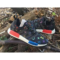 Louis Vuitton x Adidas NMD R_1 Boost Shoe
