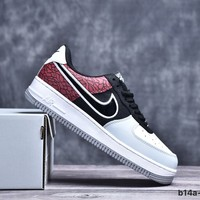 Nike Air Force 1 Velvet/Black/Red