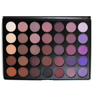 Morphe Pro 35 Color Eyeshadow Makeup Palette - Plum Palette 35P