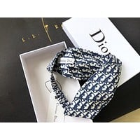 DIOR trend women's fashion retro cross headband hair band