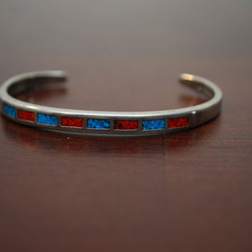 SALE now 65 dollars Vintage Native American  Turquoise by chumaka