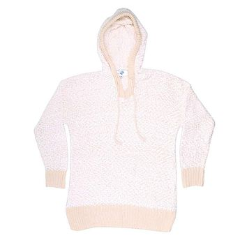 The Stockholm Popcorn Sweater in Cream by Nordic Fleece