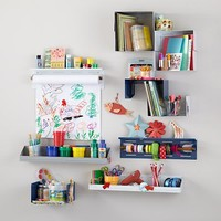Up Against the Wall Bin Paper Holder (White) in Storage Collections   The Land of Nod