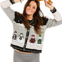 Bad Rhymes Ugly Christmas Sweater