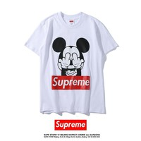 Cheap Women's and men's supreme t shirt for sale 501965868-079