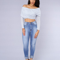 Grotto Top - Blue
