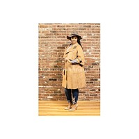 Stacey Suede Trench Coat