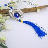 Wings of Protection Evil Eye Hanging