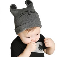 Baby Caps Autumn Winter Baby Hat Cotton Beanie Cap Infant Baby Boys Knitted Hats Caps For Baby Children Girls