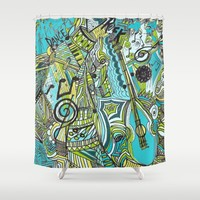 Aqua Lung my Friend Shower Curtain by RokinRonda | Society6