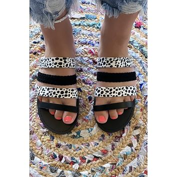 In The Wild Sandals- Leopard