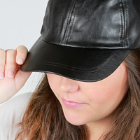 Leather Is Better Hat