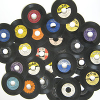 1950s 45 Record Collection Set Elvis Presley by MyPetiteBoutique