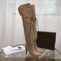 Gucci Women Fashion long boots