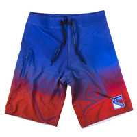 New York Rangers Official NHL Board Shorts