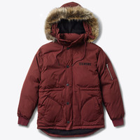 Diamond Supply Co. - Catskill Puffer Jacket - Burgundy