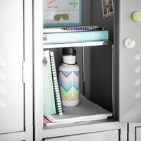Gear-Up Silver Locker Shelf